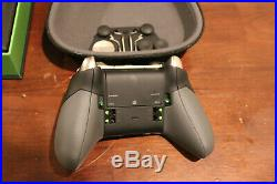 Xbox One Elite Controller open box fully tested all parts present