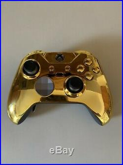 Xbox One Elite Custom Controller Gold