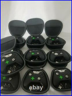 Xbox One Elite Series 1, Lot Of 10 For Parts only. As is no return