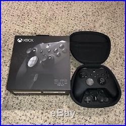 Xbox One Elite Series 2 Controller Black Charging Base & Cable Included