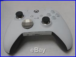 Xbox One Elite Wireless Controller (HM3-00011) White Special Edition