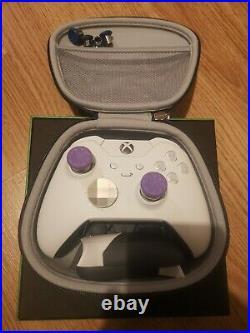 Xbox One Elite Wireless Controller Series 1. White. USED