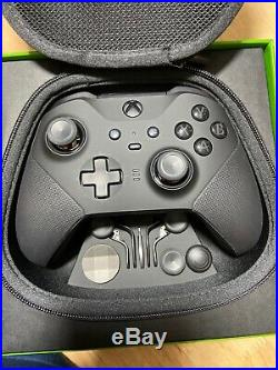 Xbox One Elite Wireless Controller Series 2 Black (all accessories Included)