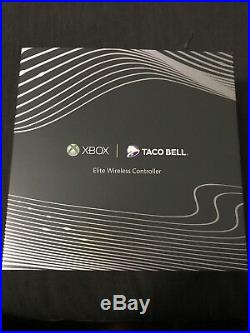 Xbox One Elite Wireless Controller TACO BELL White Special Edition RARE