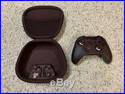 Xbox One Gears Of War 4 Limited Edition Elite Controller Read Description