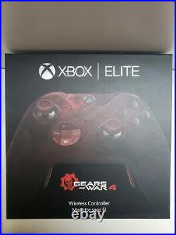 Xbox One Gears Of War Limited Edition Elite Controller NewithSealed