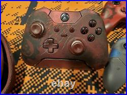 Xbox One Gears of War 4 Controllers Elite, Red, JD Controller