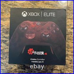 Xbox One Gears of War 4 Elite Wireless Controller EXCELLENT CONDITION, RARE
