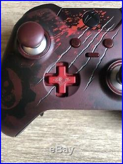 Xbox One Gears of War 4 Limited Edition Elite Controller with Charge Stnd& Battery