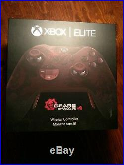 Xbox One Gears of war 4 Elite limited edition Controller (Complete!)