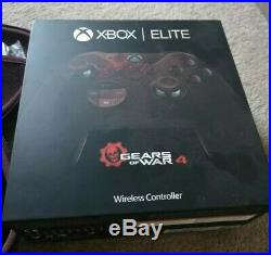 Xbox One S 2TB Limited Edition Gears of War (Boxed) & elite controller (Boxed)