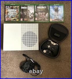 Xbox One S Elite Controller 4 games GTA5