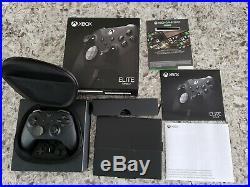 Xbox One Wireless Controller Elite Series 2 Black Microsoft Missing Paddles