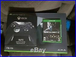 Xbox One X 1TB Console Bundle + Xbox Elite Controller + Mortal Kombat XL