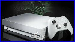Xbox One X 1TB Platinum Limited Edition Taco Bell Bundle w Elite Controller Live