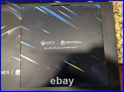 Xbox One X 1TB Taco Bell Platinum Edition Console with Elite Controller Bundle