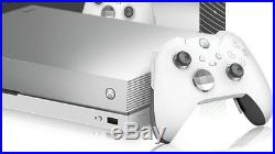 Xbox One X 1tb Taco Bell platinum edition and white elite controller bundle