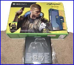 Xbox One X Cyberpunk 2077 Limited Edition 1TB Console + Elite Series 2 BUNDLE