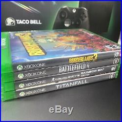 Xbox One X Eclipse 1TB Taco Bell Edition Turtle Beach Elite Pro 2 & Games Bundle