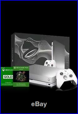 Xbox One X Platinum Limited Edition Taco Bell with Elite Controller Brand New