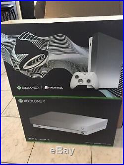 Xbox One X Platinum Taco Bell Edition withElite Controller