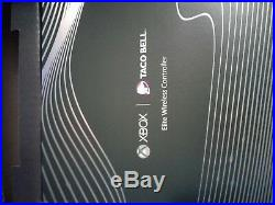 Xbox One X Platinum Taco Bell Limited Edition w Elite Controller, factory sealed