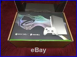 Xbox One X Platinum Taco Bell Promo 1TB Elite Controller 3M Game Pass Live Gold