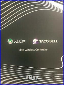 Xbox One X Platinum Taco Bell Special Edition with Elite Wireless Controller