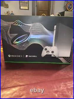 Xbox One X Platinum Xbox Elite Controller Taco Bell Limited Edition