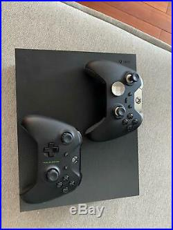 Xbox One X Project Scorpio Edition 1TB with ELITE CONTROLLER