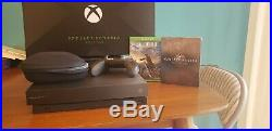 Xbox One X Project Scorpio Edition Bundle Xbox Elite Controller and Two Games
