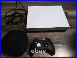 Xbox One X Robot White Special Edition 1tb Console with elite controller