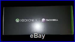 Xbox One X Taco Bell Console and Elite Controller. Codes not included