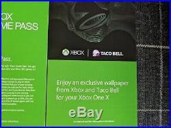 Xbox One X Taco Bell Edition WithElite Wireless Controller & 3mo Live & Game Pass