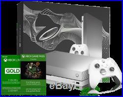 Xbox One X Taco Bell Platinum Limited Edition + Elite Controller + Gamepass Nib