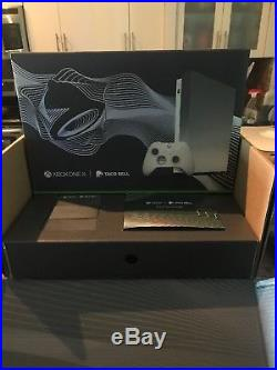 Xbox One X Taco Bell Platinum Limited Edition With Elite Controller And Gamepass