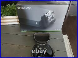 Xbox One X with Elite Controller Adult Owned