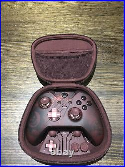 Xbox one Gears Of War 4 Elite Controller RARE immaculate condition barely used