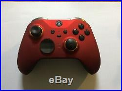 Xbox one elite controller series 2 Custom Red Gold