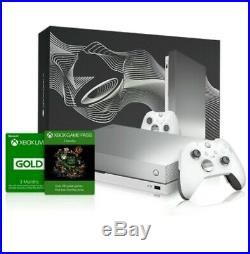 Xbox one x 1tb Taco Bell Platinum with Elite controller