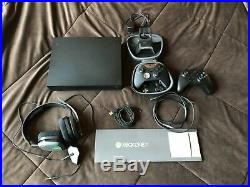 Xbox one x + elite controller with case, charging doc & astro a10 headset bundle