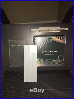 Xbox one x platinum Taco Bell addition with elite remote control and bundle