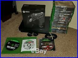 Xbox one x project scorpio edition, elite series 2 controller, 25 xbox 1 games